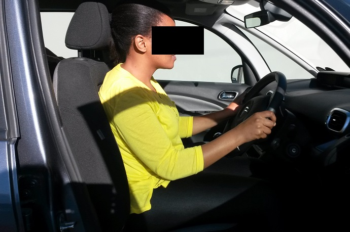 Good driving posture, driving ergonomics, lower back pain