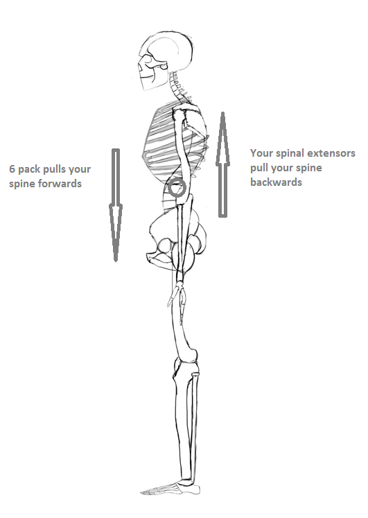 spinal lever